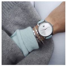 """Bundle in blue. Use code """"londonstylecalling"""" to save 10% off all orders from @mvmtwatcheswomen. #jointhemvmt (photo:@fakander) by london_style_calling"""