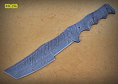 BB256 Handmade Damascus Steel Blank Blade Full Tang Tracker Knife *** Check this awesome product by going to the link at the image.(This is an Amazon affiliate link and I receive a commission for the sales)