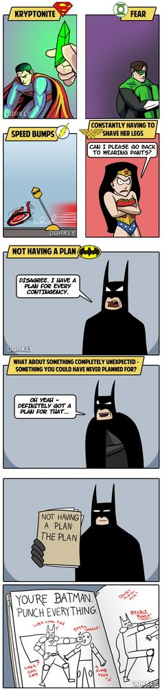 Dorkly Comic: The 5 Greatest Weaknesses of DC Superheroes
