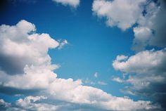 Emma Bradshaw - blue sky print