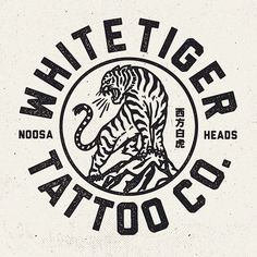 Logo for a mates new venture @mitch13tattoodtd @whitetigertattooco #design #staybold #whitetigertattooco #tattoo: