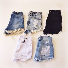 Shop our new denim shorts just in time for Spring in-store and online!