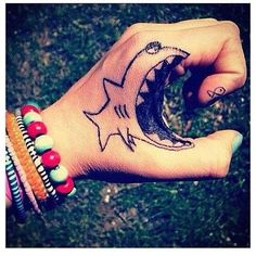 Love this, so funny! Big fish, little fish tattoo XD