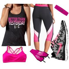 """""""WOD Wear 019"""" by sarcy321 on Polyvore  #CrossFitClothing, #crossfit"""