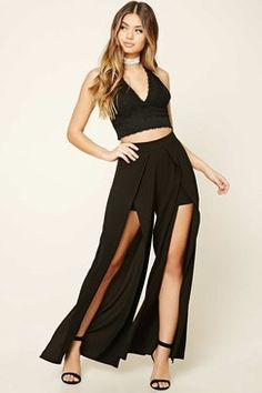 Forever 21 M-Slit Palazzo Pants Found on my new favorite app Dote Shopping #DoteApp #Shopping