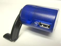 Hand-Crank USB Charger Powers Your Cellphone in an Emergency GetdatGadget.com/hand-crank-usb-charger-powers-cellphone-emergency/