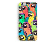 TROPICAL iPhone 5 Case, Birds iPhone Case, new iPhone Case, Tropical iPhone Case, Parrots print, Tropical bird print, colourful phone Case