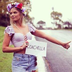 Coachella Music and Arts Festival Hippie Chic, Hippie Style, Bohemian Style, Boho Chic, Festival Mode, Festival Looks, Festival Style, Music Festival Fashion, Festival Outfits