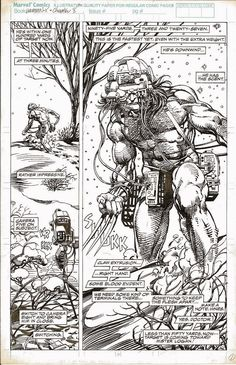 Weapon X-The Birth of Wolverine by Barry Smith