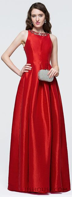 This lovely dress is the epitome of understated glamour, which makes you shining in the party. #JJSHOUSE