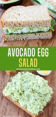 Make an easy delicious and healthy egg salad with creamy avocado from your leftover hard boiled eggs! You can eat this for breakfast lunch dinner or for a snack! Kids and adults love this easy egg salad! It is simply best! Healthy Egg Salad, Easy Egg Salad, Avocado Egg Salad, Fruit Salad, Avocado Toast, Breakfast Lunch Dinner, Breakfast Recipes, Hard Boiled, Boiled Eggs