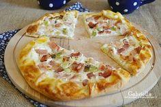Gabriella kalandjai a konyhában :): Tejfölös-szalonnás galette No Salt Recipes, Pizza Recipes, Cake Recipes, Gyro Pita, Lunch Meal Prep, Hawaiian Pizza, Winter Food, Pizza Dough, Street Food
