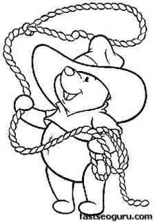 1000 Images About Coloring Pages Winnie The Pooh On