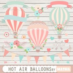 HOT AIR #BALLOON #CLIPART download here: http://luvly.co/items/3831/HOT-AIR-BALLOON-CLIPART