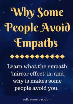 Learn about the empath mirror effect, how to heal a 'leaky aura' and why some people instantly avoid or dislike you. Empath Traits, Intuitive Empath, Empath Types, Psychic Empath, Empath Abilities, Psychic Abilities, Virgo, Highly Sensitive Person, Sensitive People