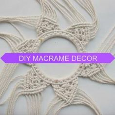 #macrame #tutorial #DIYmacrame by augusta