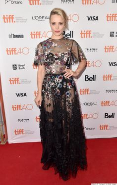 Rachel McAdams (Valentino) - Toronto International Film Festival 2015
