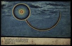 "1520 -- ""In the year 1520, on the 6th day of the month of January, this sign around the sun, which is called ""Halo Maximus"", was seen in Vienna at three o'clock in the afternoon"" -- The Book of Miracles (f°107), ca 1552"
