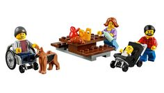 LEGO's new wheelchair figure is now available in their online store! (now if we could just get them to create a character with a white cane...)