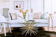 Look 3: A Modern Classic  - We Styled A Couch In 3 VERY Different Ways - Photos