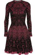 Alexander McQueen   Intarsia wool-blend dress  $2,595