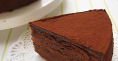 ◆ Rippi / Rippo chocolate cake ◆- ◆りぴ・りぴ㊙チョコレートケーキ◆ ◆ Rippi / Ripino Chocolate Cake ◆ The sponge is soft and fluffy. Chocolate cream is rich and fresh like chocolate ♡ Once you taste it, it& easy ♡ It& easy ☆ Thank you for making cases ♡ - Decadent Chocolate Cake, Decadent Cakes, Chocolate Cream, Chocolate Torte, Chocolate Sponge, Food Cakes, Cupcake Cakes, Cupcakes, Sweets Recipes