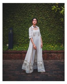 Indian Gowns Dresses, Indian Fashion Dresses, Dress Indian Style, Indian Designer Outfits, Fashion Outfits, Indian Designers, Indian Fashion Trends, Women's Fashion, Indian Wedding Outfits