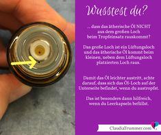 Ätherische Öle richtig austropfen! | Claudia Trummer