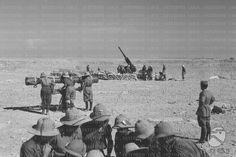 Postazioni di artiglieria nel deserto del Sahara  RG/RG145/RG00007249.JPG