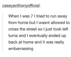 """I like how it was """"embarrassing"""" lol"""