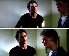 The Outsiders movie still The Outsiders Darry, The Outsiders 1983, Nothing Gold Can Stay, Stay Gold, 80s Movies, Movie Tv, Dallas Winston, Brat Pack, Ralph Macchio