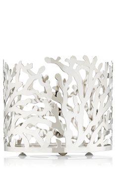 Coral 14.5 oz. 3-Wick Candle Sleeve - Slatkin & Co. - Bath & Body Works