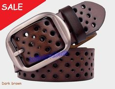 Coffee brown Leather belt/ man belt/ woman belt/ leather belt on Etsy, 22,12 €