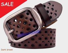 Coffee brown Leather belt/ man belt/ woman belt/ leather belt on Etsy, 22,12€