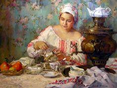 Painted by Polina Luchanova,born in 1977, Nizhneudinsk.