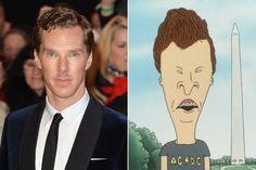 Benedict Cumberbatch / Butt-Head - Celebrities Who Look Like Iconic Cartoon Characters - Photos