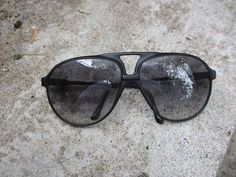 Cool Carrera Vintage 57MM Flat-Top Sunglasses Sunnies Retro
