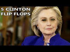 5 Hillary Clinton Flip-Flops
