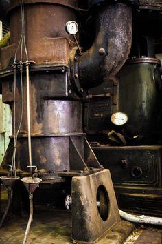 Cockatoo Island - Old Machinery Series