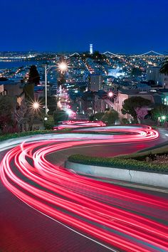 Lights of Lombard, SF, Ca