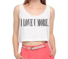 Love U more crop top: http://tokyohardcorelove.storenvy.com/products/1185879-i-love-u-more-crop-top