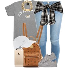 7a808996ba45 A fashion look from August 2015 featuring short sleeve t shirt