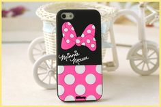 Case de silicona diseño Disney Minnie Mouse & Lazo para iPhone 4 4s – ulollicases