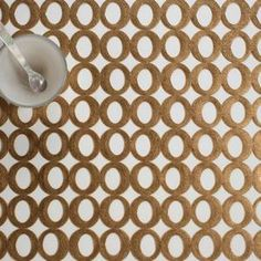 Chilewich : Table : Placemats & Runners : Mod : Brass (Rectangle)