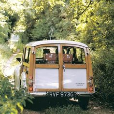 Morris traveller. If money was no object I would definitely be driving round in a Morris Traveller during the sunny months :)