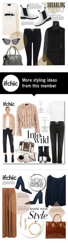 """""""Sweet Shearling Coats"""" by ifchic on Polyvore featuring Cres. e Dim., Markus Lupfer, Current/Elliott, Miista, JAY. M, Grey Ant, contestentry, shearlingcoat and ifchic"""