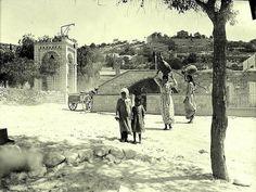 The City of Nazareth. Palestine 1938 مدينة الناصرة. فلسطين 1938