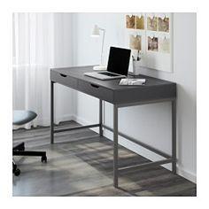 ALEX Skrivbord, grå - 131x60 cm - IKEA