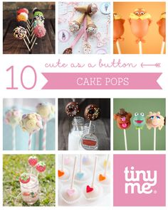 Cake Pops... Perfectly sized mouthfuls of happiness!