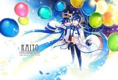 Tags: Fanart, Vocaloid, KAITO, Pixiv, Verus, PNG Conversion, Fanart From Pixiv, V3